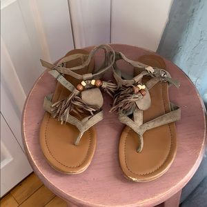 ✨3 for $15✨MIA Brown Sandals Size 7.5